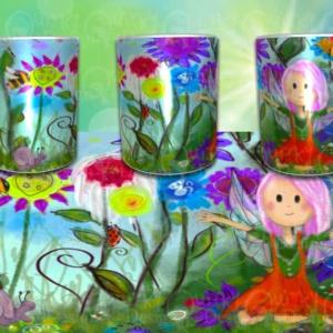Faery love mug by artist loren